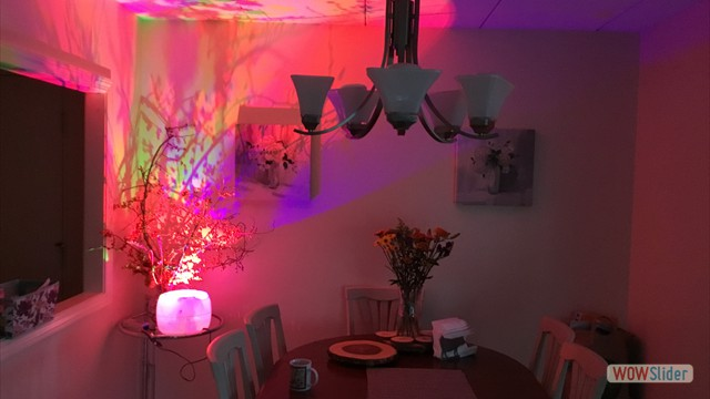 Create an amazing atmosphere in any room!